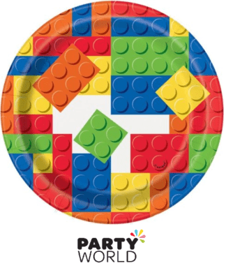 lego party plates