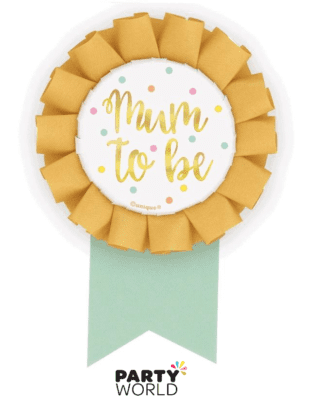 mum to be ribbon badge