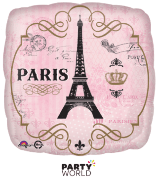 paris foil balloon