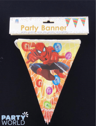 spiderman bunting