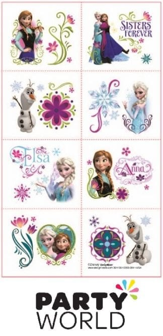 Disney Frozen Party Tattoo Favours (8)