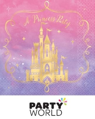 Disney Princess Once Upon a Time Lunch Napkins (16pk)