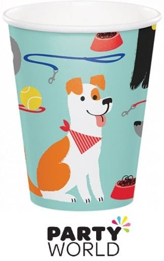 Dog Party 9oz Paper Cups (8)