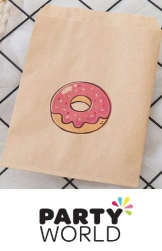 Donut Theme Kraft Paper Party bags (25)