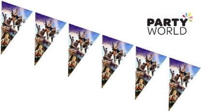 Fortnite Party Bunting Flag Banner