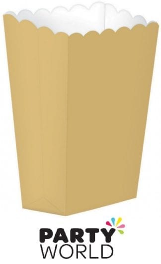 Gold Party Favour Boxes (5)