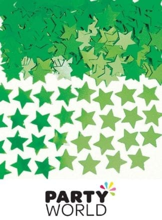 Green Mini Star Foil Party Scatters