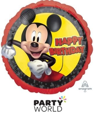 Mickey Mouse Forever Birthday Foil Balloon