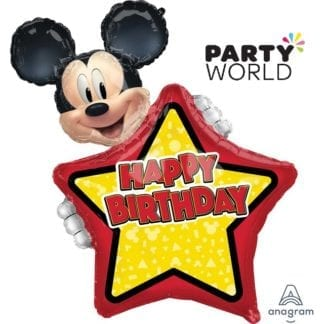 Mickey Mouse Large Personalised Birthday Foil Balloon
