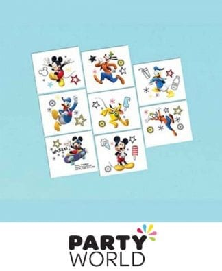 Mickey Mouse On The Go Temporary Tattoos (8)