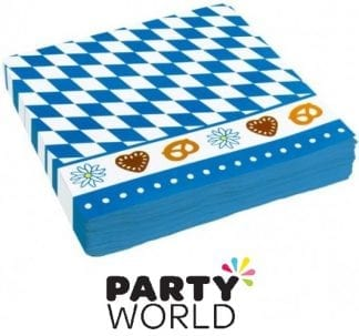 Oktoberfest Party Luncheon Paper Napkins (20)