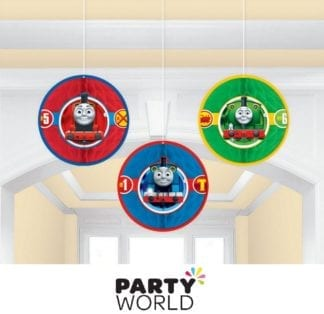 Thomas All Aboard Honeycomb Decorations (3)