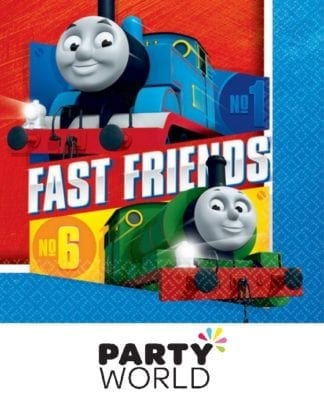 Thomas All Aboard Luncheon Napkins (16)