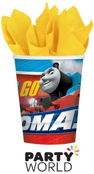 Thomas All Aboard Paper Party Cups (8)