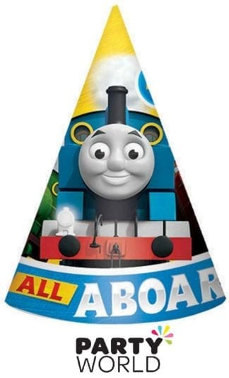 Thomas And Friends All Aboard Paper Cone Hats (8)
