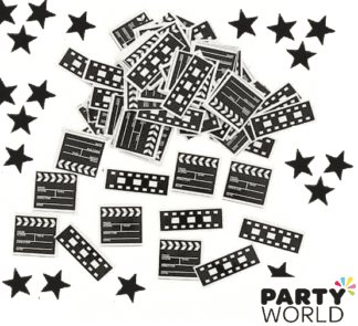 filmstrip and stars confetti