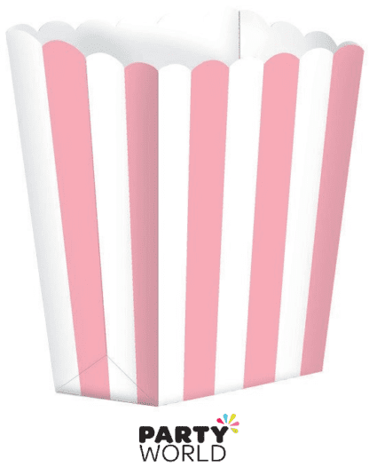 soft pink treat boxes