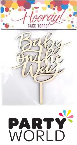Baby On The Way Cake Topper