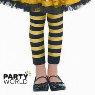Bumble Bee Fairy Party Footless Tights