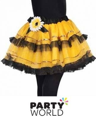 Bumble Bee Fairy Party Tutu