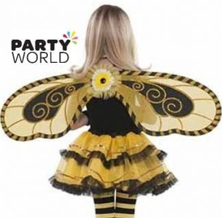 Bumble Bee Fairy Party Wings
