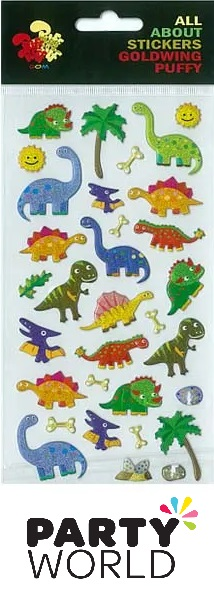 Dinosaur Party Party Stickers (31)