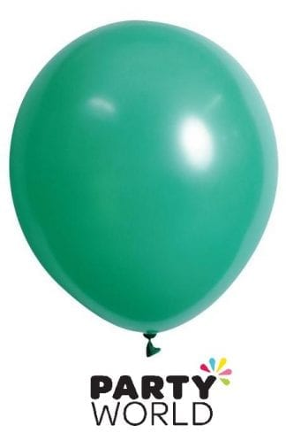 Green 30cm Latex Balloons (20pk)
