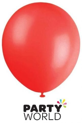 Pearl Red 30cm Latex Balloons (20pk)