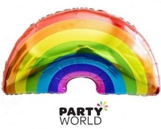 Rainbow Party Foil Balloon