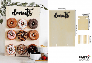 donuts wall display