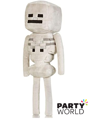 minecraft skeleton plush toy