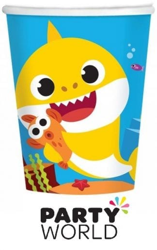 Baby Shark Party Paper Cups (8)