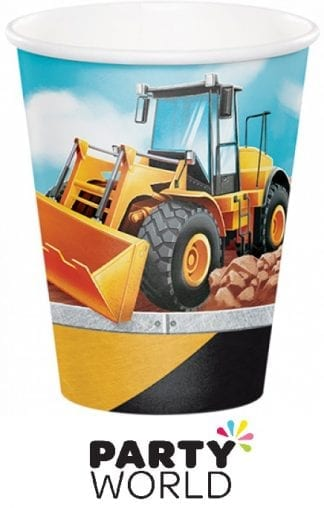Construction Party Big Dig Paper Cups (8)