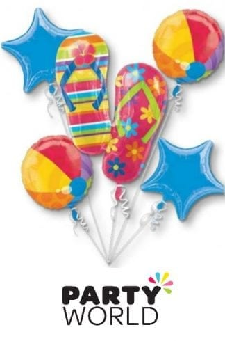 Flip Flop Foil Balloon Bouquet (5)