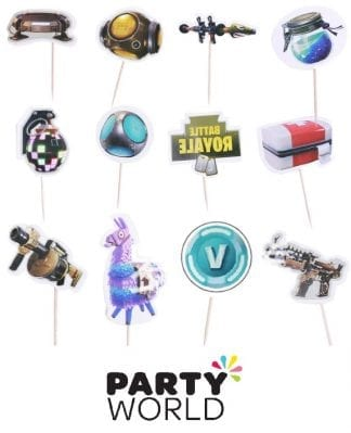 Fortnite Battle Royale Cupcake Picks (20)