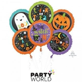 Halloween Family Friendly Foil Balloon Bouquet