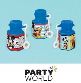 Mickey Mouse Mini Bubble Bottles (12)