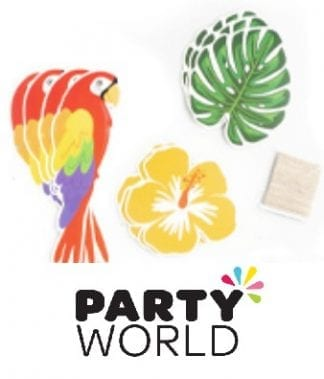 Tropical Bird Party Flag Bunting