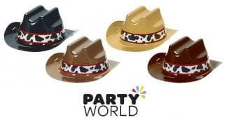 Western Assorted Mini Cowboy Hats (8)