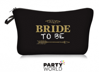bride to be pouch makeup bag