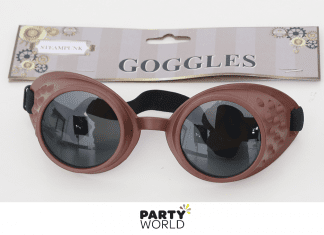 steampunk goggles copper