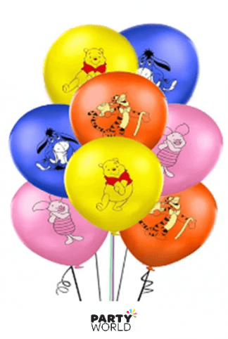 winnie the pooh latex balloons
