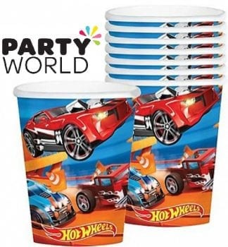 Hot Wheels Wild Racer Party Cups (8)