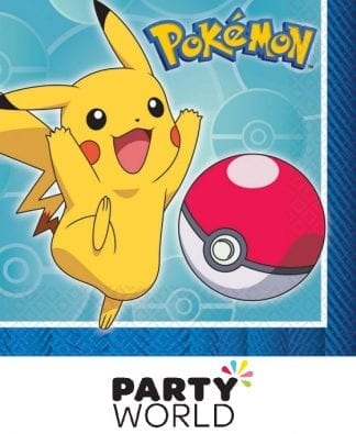 Pokemon Core Party Beverage Napkins (16)