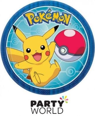 Pokemon Core Party Round 7in Plates (8)