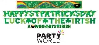 St Patricks Day Value Pack Banners (4)