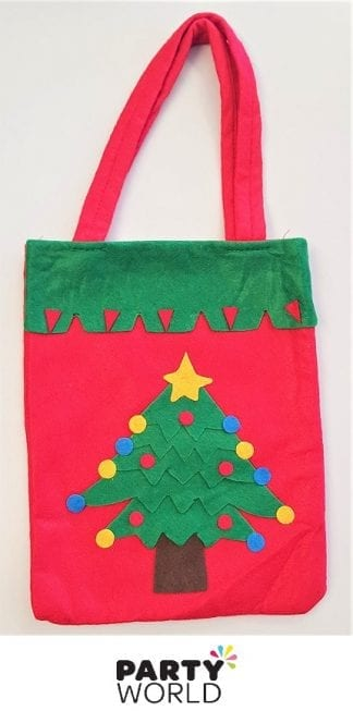 christmas tree fel bag xmas pouch