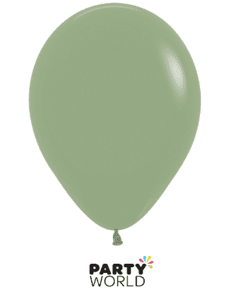 eucalyptus green mini latex balloons