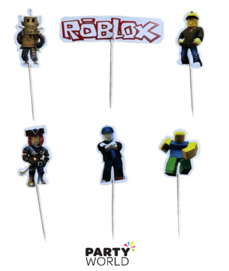 roblox cupcake toppers
