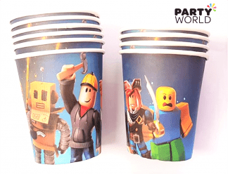 roblox paper cups